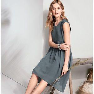 Garnet Hill Lace and Silk Dress, Size 8